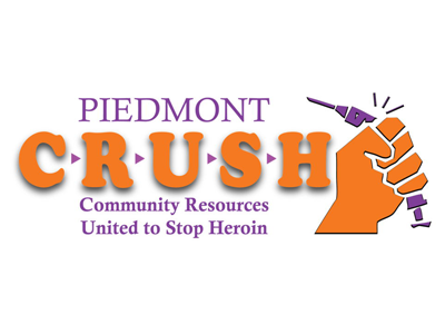 Piedmont Community Resources United to Stop Heroin (CRUSH), a partner of CAYA - Come As You Are